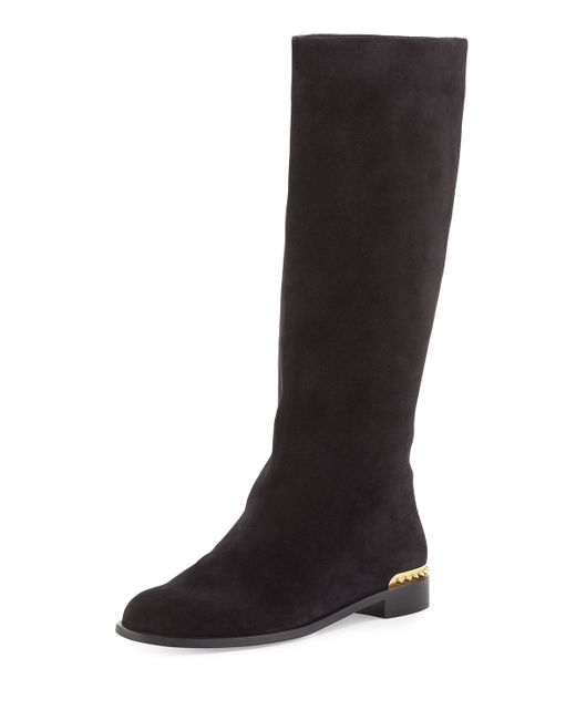Alexander McQueen   Black Platform Ankle Boots   Lyst