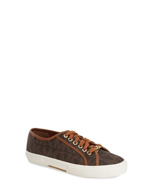 MICHAEL Michael Kors | Brown 'boerum' Sneaker | Lyst