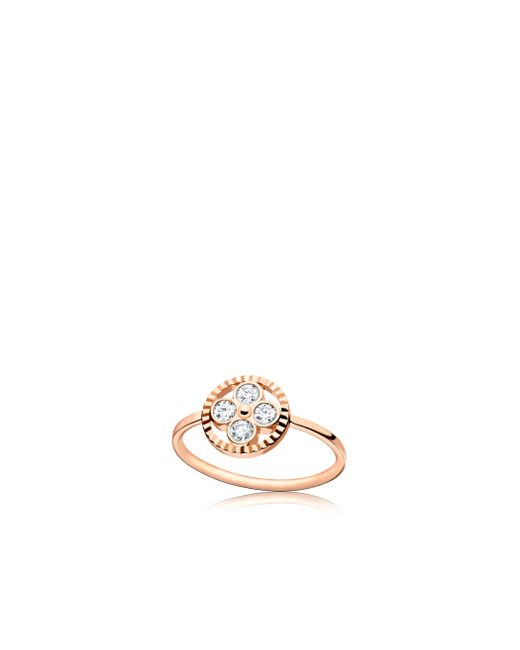 Louis Vuitton | Diamond Blossom Bb Ring, Pink Gold And Diamonds | Lyst