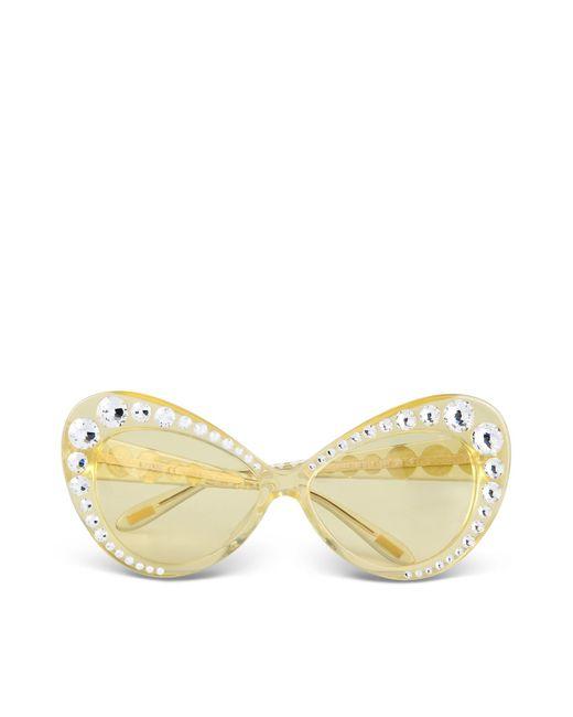 Moschino | Yellow Sunglasses | Lyst
