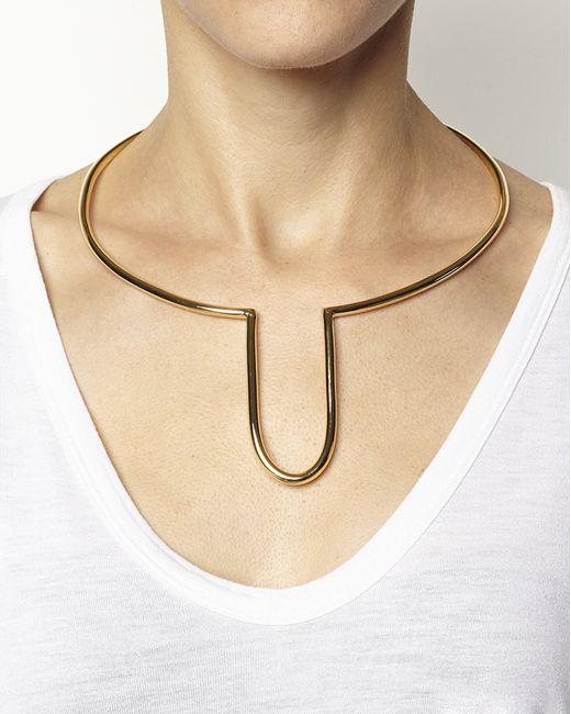 Rachael Ruddick | Metallic Archway Cuff | Lyst