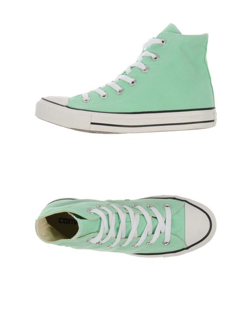 Converse | Green High-tops & Trainers for Men | Lyst