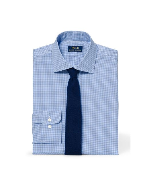 Polo Ralph Lauren | Blue Slim-fit Pinpoint Oxford Shirt for Men | Lyst