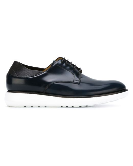 Giorgio armani Lace-up Derby Shoes in Black for Men (BLUE ...