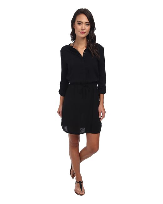Body Glove | Black Pam Shirt Dress Cover-up | Lyst