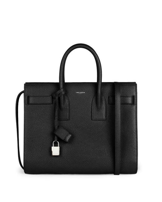 Saint Laurent | Black Small Sac De Jour Grained Leather | Lyst