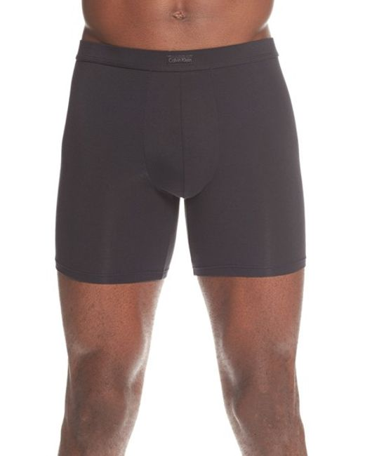 Calvin Klein | Black Modal Blend Boxer Briefs for Men | Lyst
