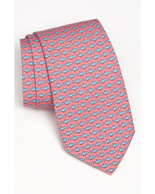 Vineyard Vines | Pink 'bonefish' Silk Tie for Men | Lyst