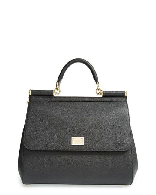 Dolce & Gabbana | Black 'miss Sicily' Satchel | Lyst