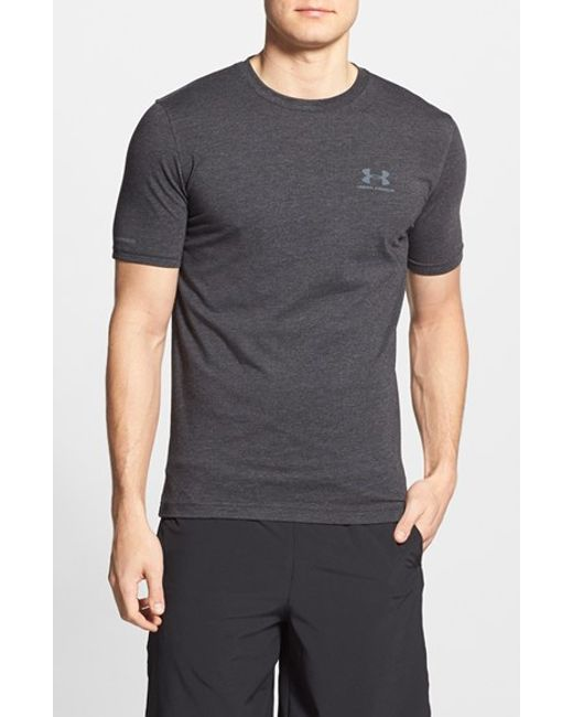 Under Armour | Black 'sportstyle' Charged Cotton Loose Fit Logo T-shirt for Men | Lyst