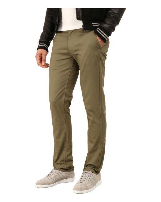 Brixton | Green Grain Chino Pants for Men | Lyst