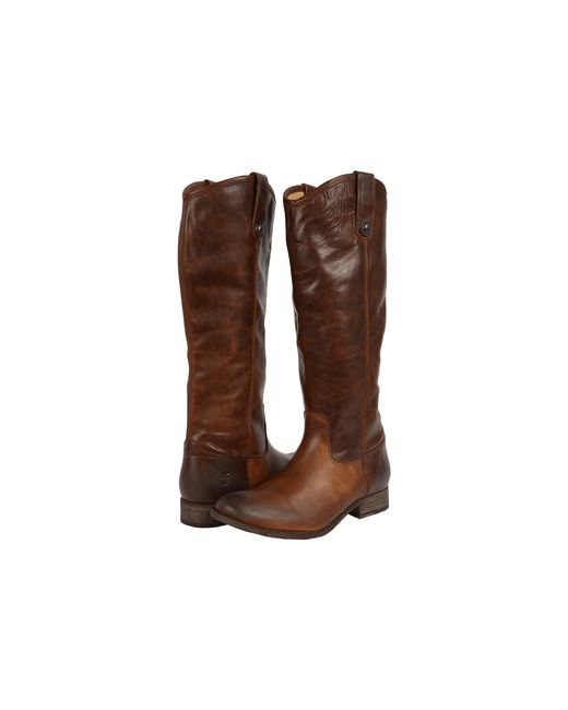 Frye | Brown Melissa Button Boot Extended | Lyst