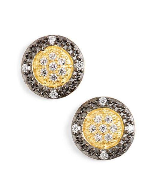 Freida Rothman | Metallic 'metropolitan' Stud Earrings | Lyst