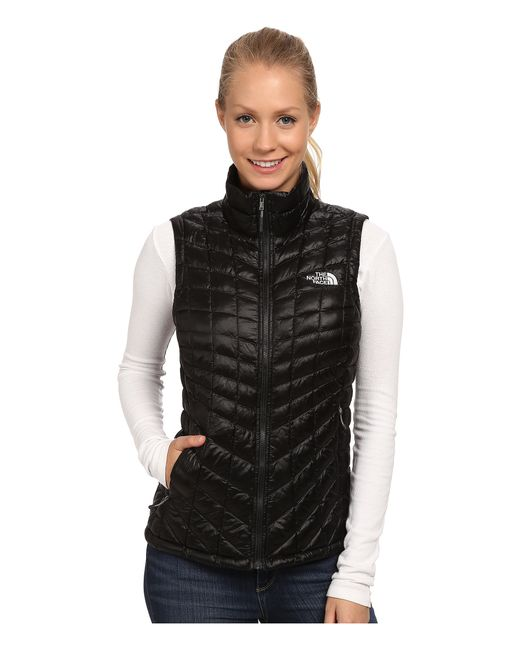The North Face | Black Thermoball™ Vest | Lyst