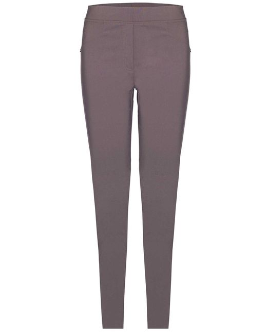 James Lakeland | Gray Plain Stretch Trousers | Lyst