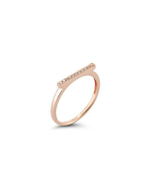 Dana Rebecca | Metallic Rose Gold Sylvie Rose Ring | Lyst