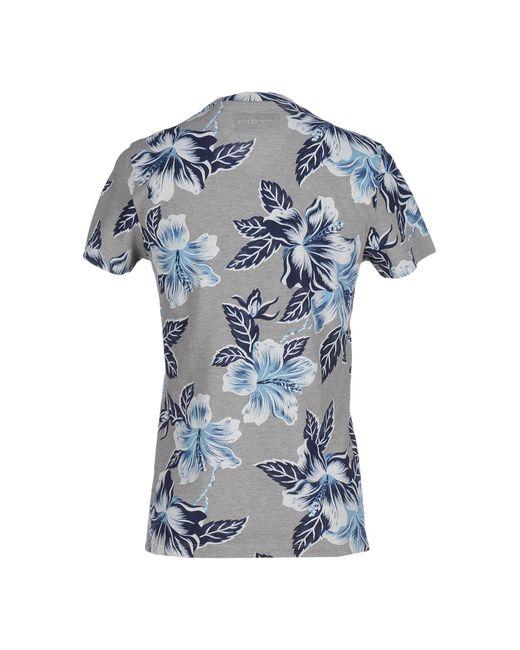 Hydrogen   Blue T-shirt for Men   Lyst