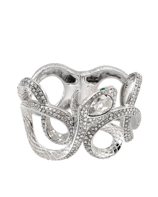 Roberto Cavalli | Metallic Serpent Cuff | Lyst