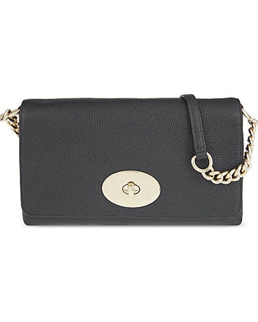 COACH | Black Crosstown Leather Cross-body Bag | Lyst