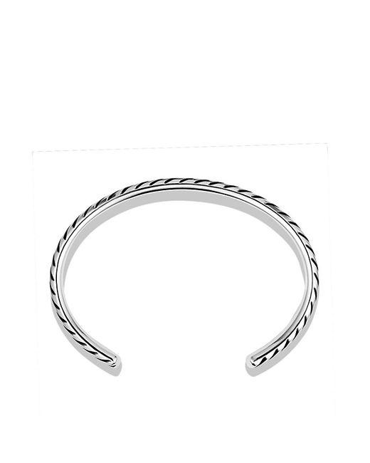 David Yurman | Metallic Modern Chevron Cuff Bracelet for Men | Lyst