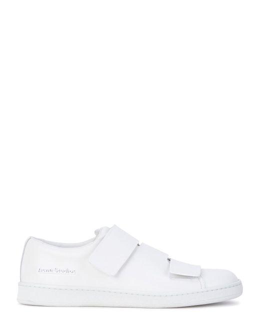 Acne | White Triple Strap Sneaker | Lyst