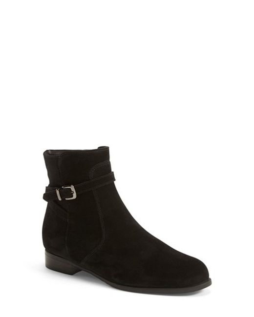 La Canadienne | Black 'Scarlet' Waterproof Bootie | Lyst