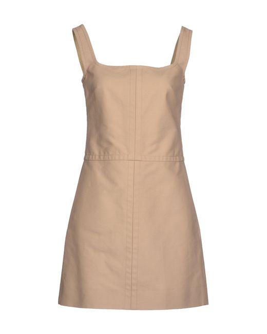 Valentino | Beige Short Dress | Lyst
