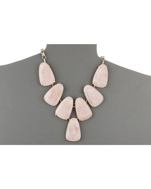 Kendra Scott | Pink Harlow Necklace | Lyst