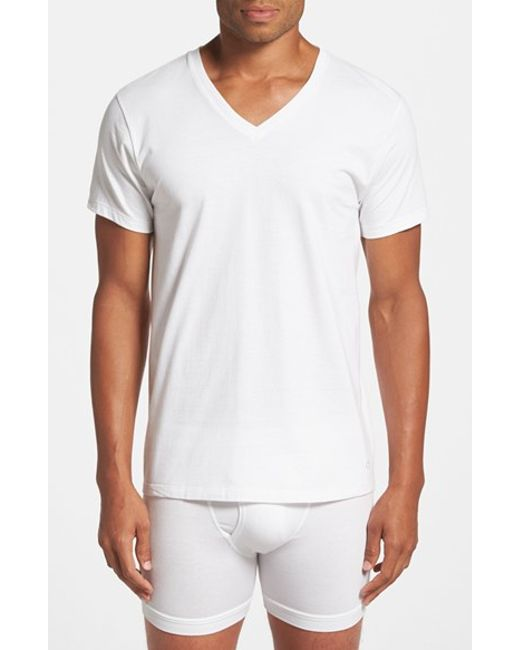 Calvin Klein | 2-pack Cotton T-shirt, White for Men | Lyst