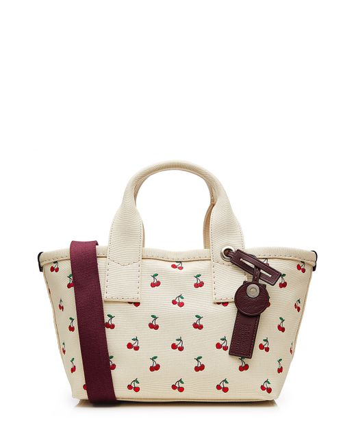 Marc By Marc Jacobs | Beige Canvas Printed Fruit Small Tote - Multicolor | Lyst