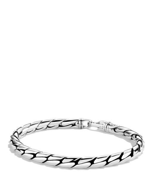 David Yurman Cobra Chain Bracelet In Silver For Men Lyst