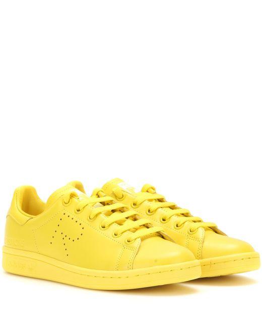 Adidas By Raf Simons   Yellow Simons Stan Smith   Lyst