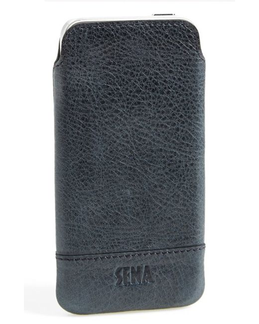 Sena | Blue 'heritage' Iphone 5 & 5s Pouch Case for Men | Lyst
