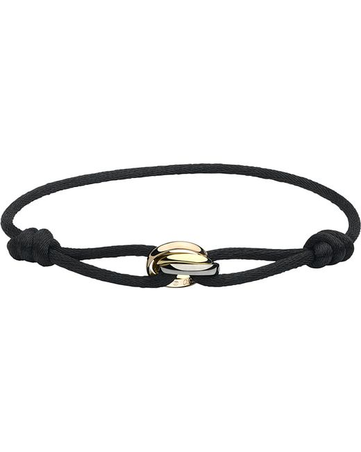 Cartier | Black Trinity 18ct Pink, Yellow And White-gold Bracelet | Lyst