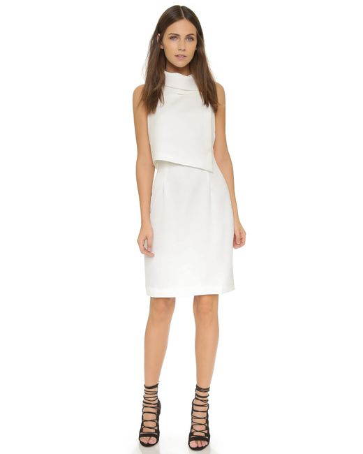 Keepsake | White Paper Trail Dress - Ivory | Lyst