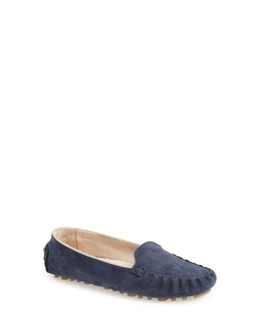 Cole Haan | Blue Cary Venetian Moccasin | Lyst