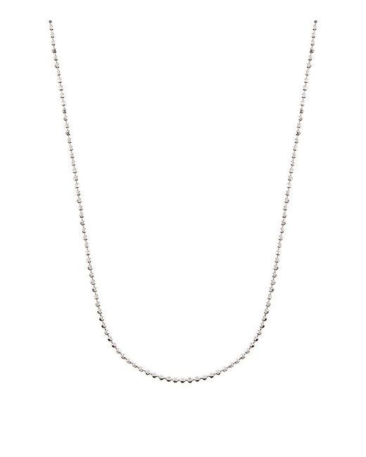 Links of London   Metallic Silver Ball Chain (1.5mm)   Lyst