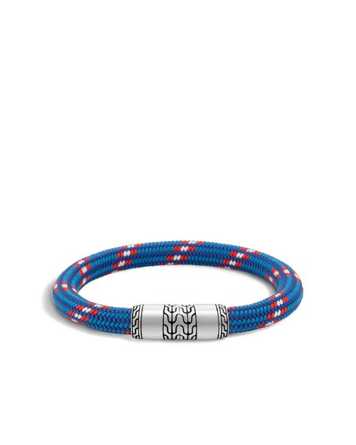 John Hardy | Blue Classic Chain Cord Bracelet for Men | Lyst