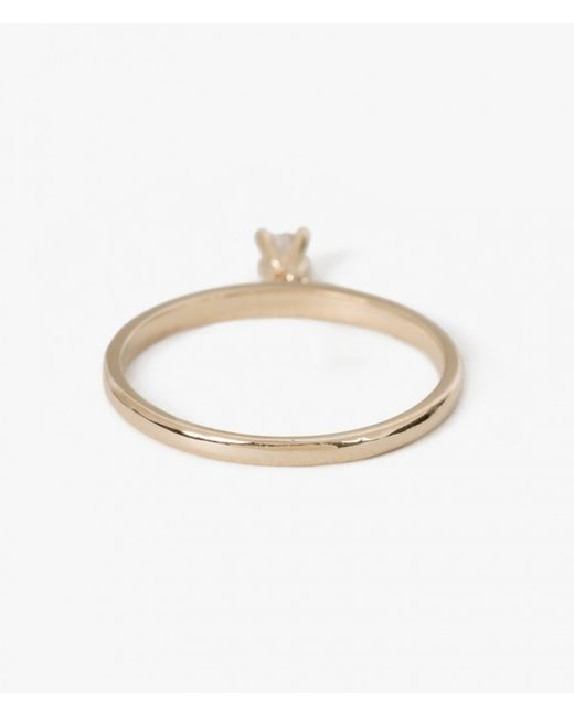Ariel Gordon | Metallic Diamond Charm Ring | Lyst