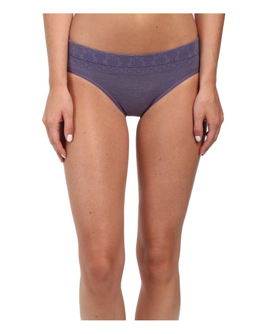 Smartwool   Purple Phd® Seamless Mid Rise Bikini   Lyst
