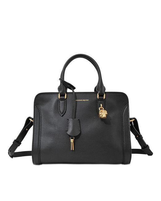 Alexander McQueen | Black Padlock Small Bag | Lyst