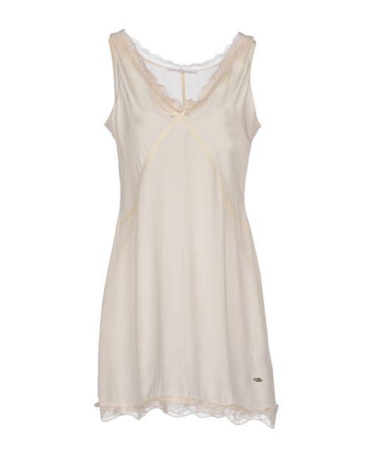 GAUDI | Natural Short Dress | Lyst