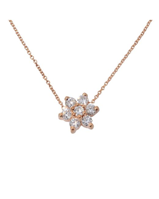 Ginette NY | Metallic Diamond Star Necklace | Lyst