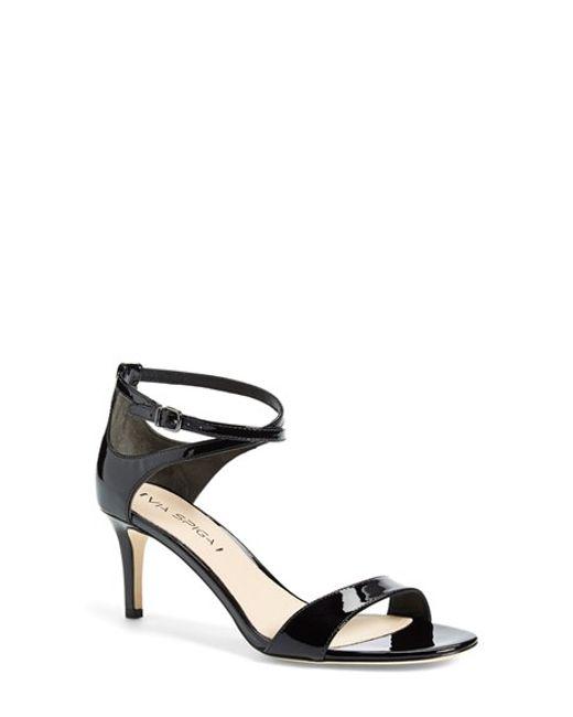 Via Spiga | Black 'leesa' Sandal | Lyst