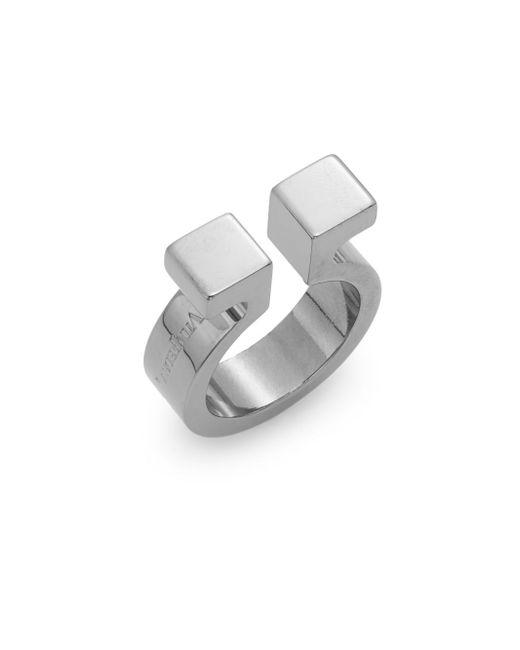Vita Fede | Metallic Omega Ring/gunmetal-tone | Lyst