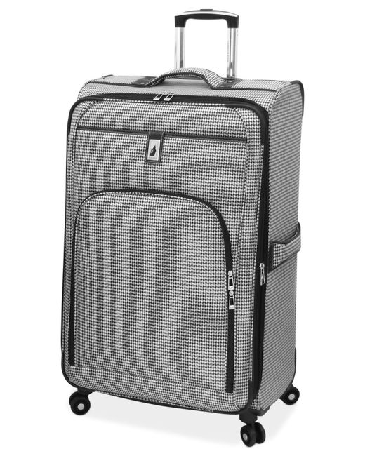"London Fog | Black Cambridge 29"" Spinner Suitcase for Men 