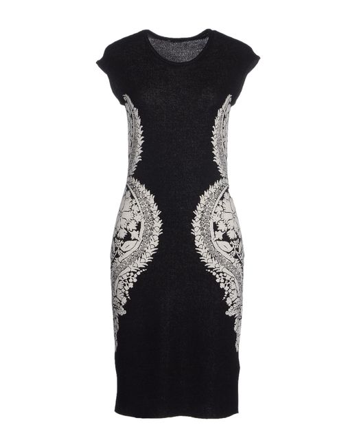 BOSS Black | Black Knee-length Dress | Lyst