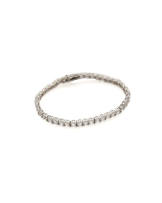 Kenneth Jay Lane | Multicolor Round Cz Tennis Bracelet | Lyst