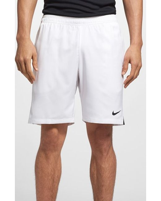 Nike | White 'court' Dri-fit Tennis Shorts for Men | Lyst