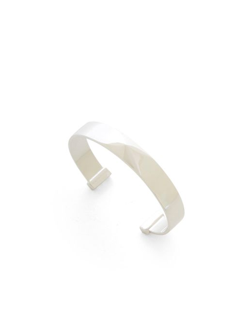 BCBGMAXAZRIA   Metallic Pyramid Cuff Bracelet   Lyst
